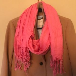 Accessories - Bright pink pashmina scarf/wrap
